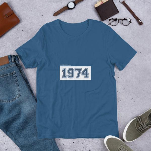 T-shirt Personalizada com ano de nascimento