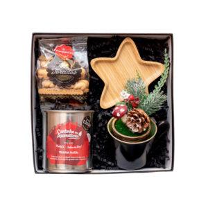 Gift Box Tissana de Natal Bio e Biscoitos Paupério