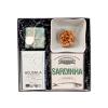 Gift Box Prendas de Natal - Azeite Acushla . Conservas La Gondola . Sabonetes Essências de Portugal - Alegre Portuguesa_b