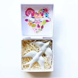 Gift Box Personalizada Amo-te - Andorinhas - Prendas Originais Alegre Portuguesa