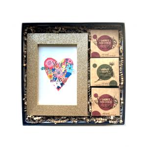 Gift Box You are in my Heart - Dia S. Valentim - Presentes Originais Alegre Portuguesa
