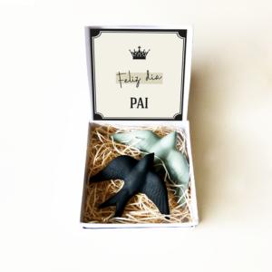 Caixa Gift Feliz Dia Pai . Presentes Originais Alegre Portuguesa